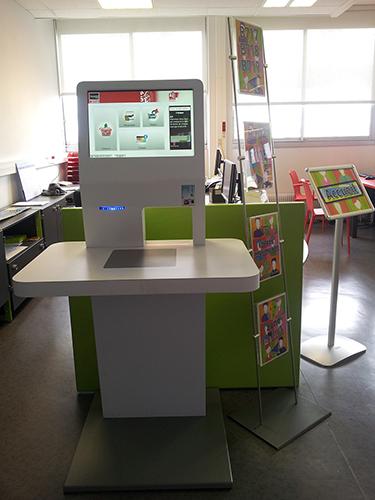 Borne automatique de prêt